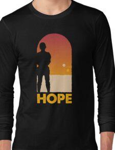 Hope - Tatooine's New Hope! Long Sleeve T-Shirt