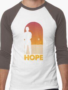 Hope - Tatooine's New Hope! Men's Baseball ¾ T-Shirt