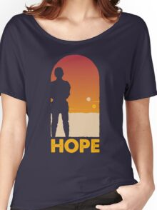 Hope - Tatooine's New Hope! Women's Relaxed Fit T-Shirt