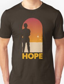 Hope - Tatooine's New Hope! T-Shirt