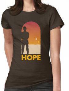 Hope - Tatooine's New Hope! Womens Fitted T-Shirt
