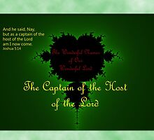 The Captain of the Host of the Lord by aprilann