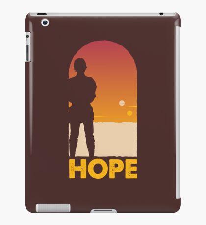 Hope - Tatooine's New Hope! iPad Case/Skin