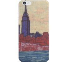 empire state silhouette iPhone Case/Skin