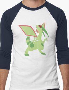 Flygon Minimalist Men's Baseball ¾ T-Shirt