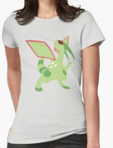 Flygon Minimalist Womens Fitted T-Shirt