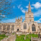 St John the Baptist Church, Burford by Stephen Knowles