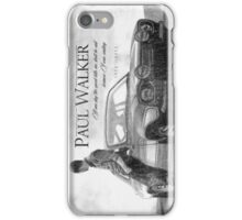Paul Walker iPhone Case/Skin