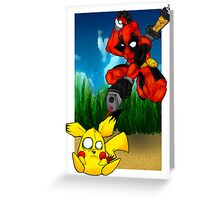 Pikapool Greeting Card