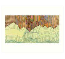 Ridge Art Print