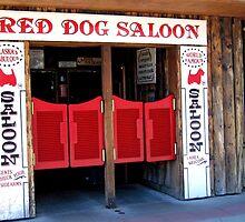 THE RED DOG SALOON JUNEAU ALASKA by JAYMILO
