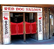 THE RED DOG SALOON JUNEAU ALASKA Photographic Print