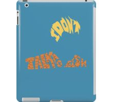 Aquaman typography iPad Case/Skin