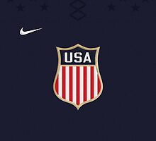 Team USA Home Jersey Phone Case by Russ Jericho