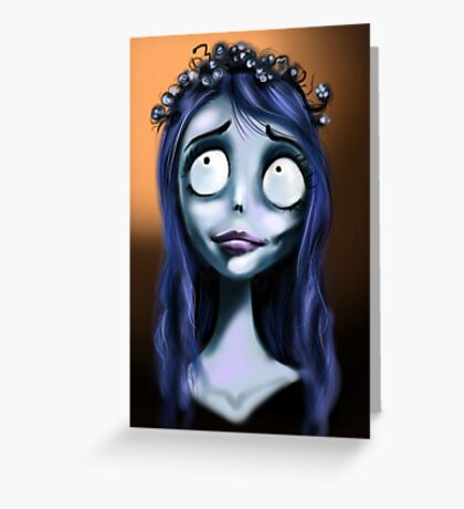 Miss Emily Corpse  Greeting Card