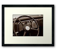 Classic Dash Framed Print