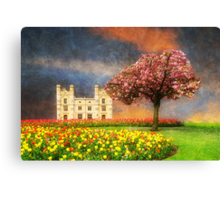 An English Garden Canvas Print