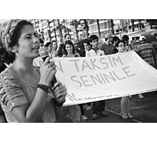Anti-government Protests in Turkey Photographic Print