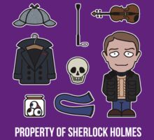 Property of Sherlock Holmes (shirt) by redscharlach