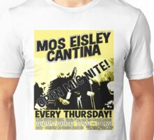 Moss Eisley Cantina Open Mic Night! Unisex T-Shirt