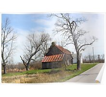 SOUTHERN INDIANA BARN Poster