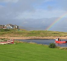 Brora Estuary by Sandy Sutherland