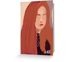 Amy Pond Greeting Card