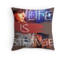 Strange-3 Throw Pillow