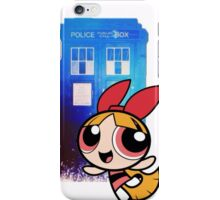 Blossom in the TARDIS iPhone Case/Skin