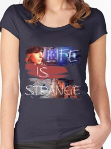 Strange-3 Women's Fitted Scoop T-Shirt