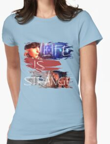 Strange-3 Womens Fitted T-Shirt