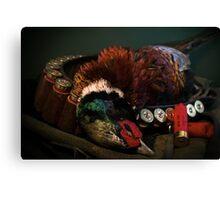 Prize Pheasant Canvas Print