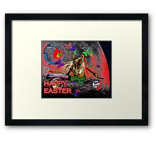 Happy Easter. Framed Print