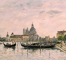 Santa Maria della Salute and the Dogana, Venice by Bridgeman Art Library
