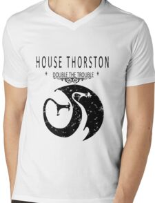 "HTTYD ""House Thorston"" Graphic Tee Mens V-Neck T-Shirt"
