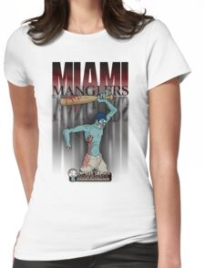 The Miami Manglers - Zombie League Baseball Womens Fitted T-Shirt