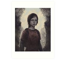 The Last Of Us Ellie Art Print