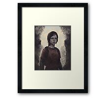The Last Of Us Ellie Framed Print