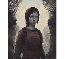 The Last Of Us Ellie Photographic Print