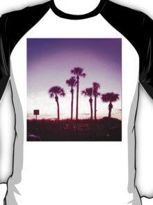 Trippy Orlando Beach Sunset T-Shirt