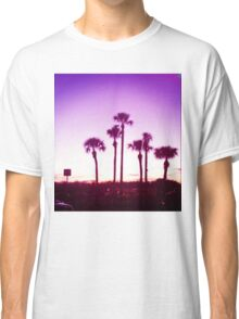 Trippy Orlando Beach Sunset Classic T-Shirt