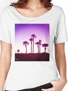 Trippy Orlando Beach Sunset Women's Relaxed Fit T-Shirt