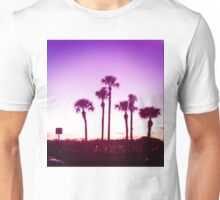 Trippy Orlando Beach Sunset Unisex T-Shirt
