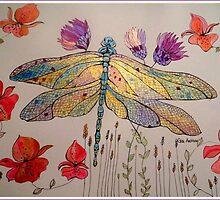 DRAGONFLY IRIDESCENT by Gea Austen