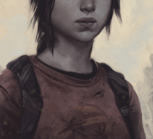 The Last Of Us Ellie Sticker