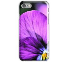 Pansy 392 iPhone Case/Skin