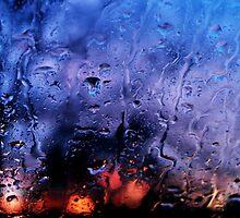 Rain, glass, color by ak4e