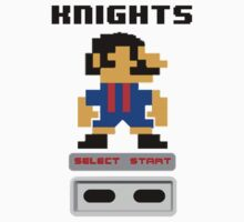 Rugby League - Knights 8-bit by markp1979