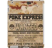 Poke Express - Trainers Wanted iPad Case/Skin