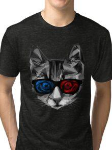3D Specs Tri-blend T-Shirt